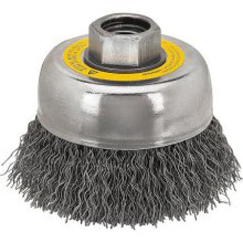 DEWALT DW4920 3-Inch by 5//8-Inch-11 Crimped Cup Brush//Carbon Steel .014-Inch