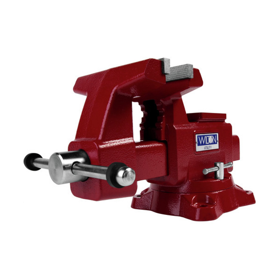 Jet wilton 11128 6 1 2 utility workshop bench vise with swivel base 6 inch bench vise