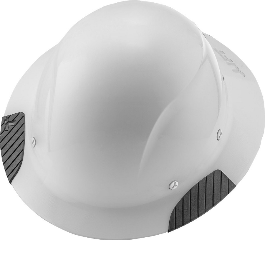 Lift Safety HDF-15WG DAX Gloss White Fiber-Reinforced Hard Hat