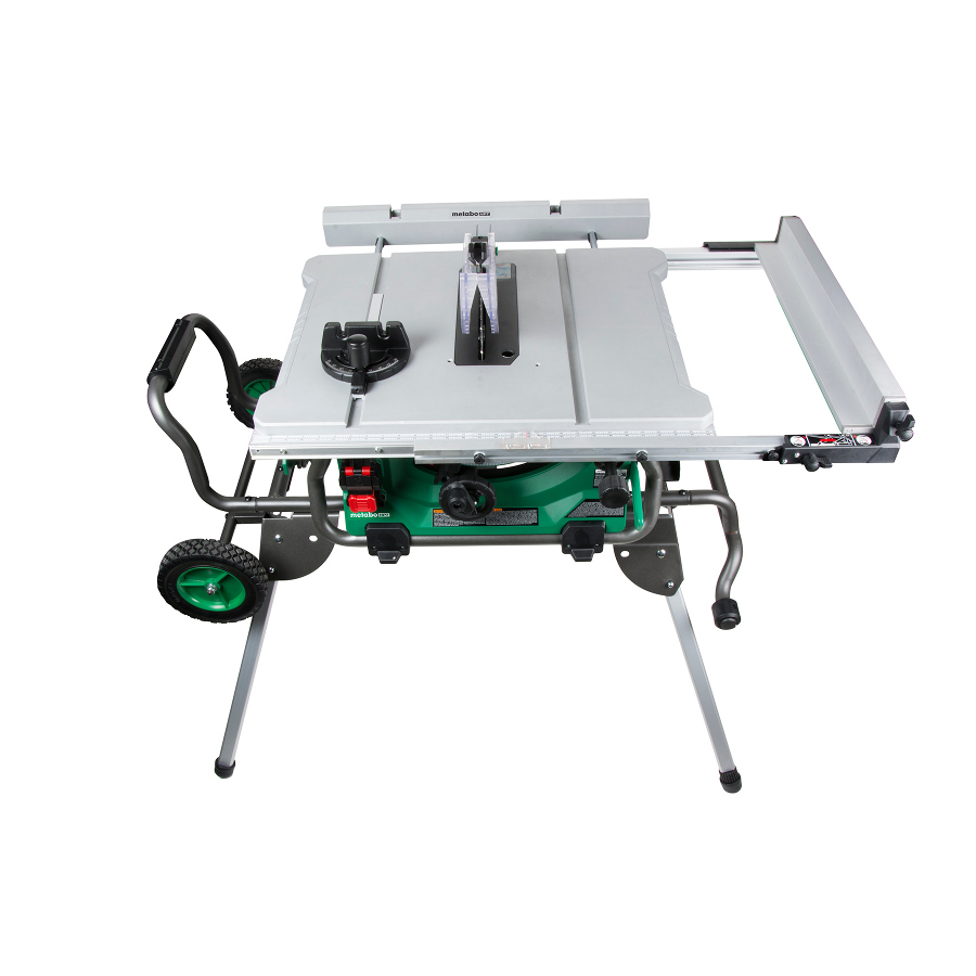 - Hitachi C10RJ 10-Inch Jobsite Table Saw With Folding Stand (Call