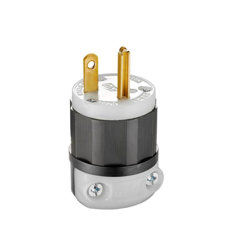 Cooper wiring device box male plug end