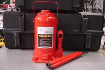Magnum Tools JAB20L 20-Ton Low Profile Hydraulic Bottle Jack