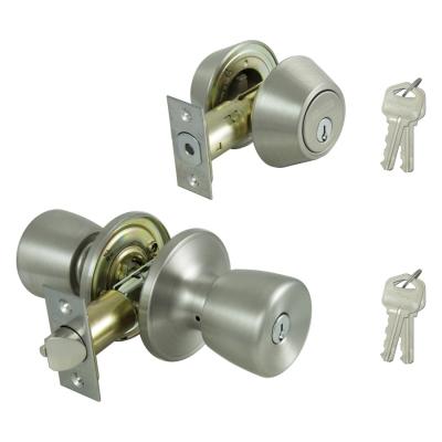 Master Lock Company Tuco0603 Two Lock Door Knob And