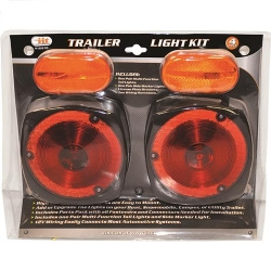 Illinois Industrial Tool (IIT) 16970 Deluxe Trailer Light Kit