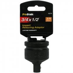 Pro Grade 16279 3/4-Inch Drive, 3/4 x 1/2-Inch Impact Reducing Adaptor