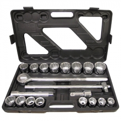 Harvest Forge 86826 3/4-Inch Drive, 21 Piece Socket Set