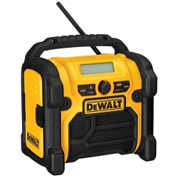 Factory Reconditioned Dewalt DCR018R 12/18/20-Volt Max Compact Worksite Radio