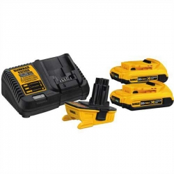 Dewalt DCA2203C 20-Volt to 18-Volt Adaptor Kit