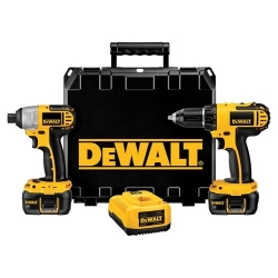 Factory Reconditioned Dewalt DCK265LR 18V Compact Drill and Impact Combo