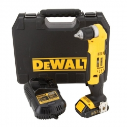 Dewalt DCD740C1 3/8-Inch 20-Volt Right Angle Drill Kit with 1 Battery