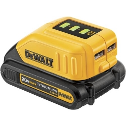 Dewalt DCB090 20-Volt / 12-Volt MAX USB Power Source