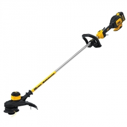 Dewalt DCST920P1 20-Volt Brushless String Trimmer with 5.0 Amp/Hour Battery and Charger