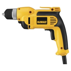 DeWalt DWD110K 7 Amp 3/8-Inch VSR Pistol Grip Drill Kit with Keyless Chuck
