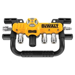 Dewalt D55040 Quadraport for 4-Way Air Compressor Hose Splitter
