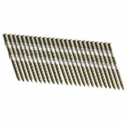 "2-Inch x .113"" Ring Shank Hot Dip Galvanized 22-Degree Plastic Collated Strip Nails - 6,000 Ct"