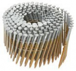 12211HPT 2-3/8-Inch x .113-Inch Ring Shank Brite Wire Collated Coil Nails - 5,000 per Box