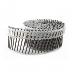 1-3/4-Inches x .092-Inch Hot Dipped Galvanized Ring Shank Plastic Sheet Coil Nails - 6,000 Count