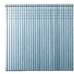 16 Gauge 1-Inch Galvanized Straight Brads - 2,500 Count Box