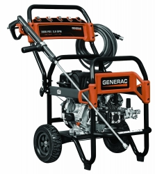 Generac 6564 Gas Powered 3,800 PSI, 3.6 GPM, 302cc OHV Commercial Grade Pressure Washer