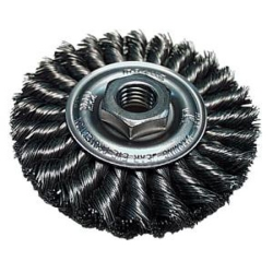 Makita 743212-A  4-Inch Knotted Twist Wire Brush Wheel