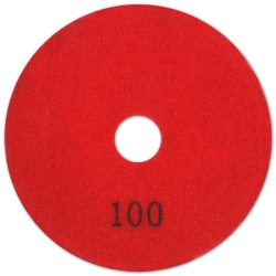 Lackmond DPD1004C 4-Inch x 100-Grit Dry Polishing Pad
