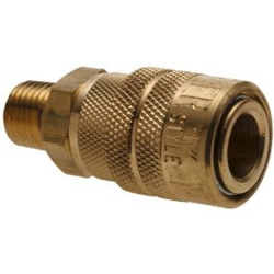 1/4-Inch Male Coupler Body - M Style Quick Connect
