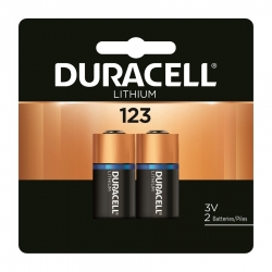 Duracell 41333212104 3-Volt Ultra Lithium Photo Batteries - 2 Pack