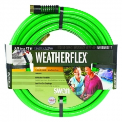 Colorite SNWF58075 5/8-Inch x 75-Foot All Weather Garden Hose