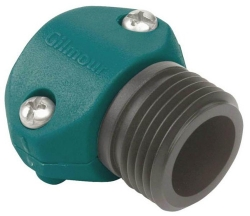 Gilmour 01M Large Male Garden Hose Coupler