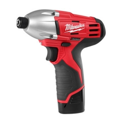 Factory Reconditioned Milwaukee 2450-82 12-Volt Impact Driver and Charger Kit