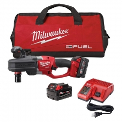 Milwaukee 2711-22 M18 Fuel 7/16-Inch Super Hawg Right Angle Drill Kit
