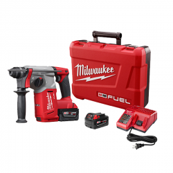 Milwaukee 2712-22 M18 Fuel 1-Inch SDS Rotary Hammer Kit