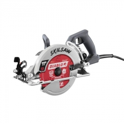 "Skil SPT77W-22 7-1/4"" Aluminum Worm Drive Circular Saw with Diablo Blade"