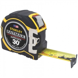 Stanley FMHT33348 30-Foot x 1-1/4-Inch Auto Lock Tape Measure