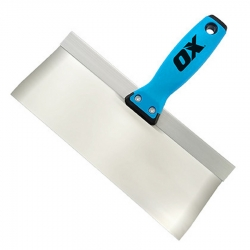 OX Tools OX-P530310 10-Inch Stainless Steel Pro Taping Knife with OX Grip