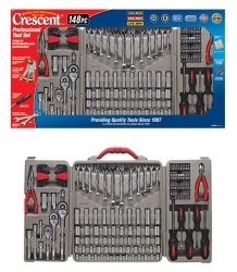 Crescent Brand CTK148P 148-Piece Mechanic's Tool Set