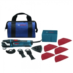Bosch GOP40-30B StarlockPlus Oscillating Multi-Tool Kit with Bag