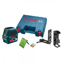 Bosch GLL100G Green-Beam Self-Leveling Cross Line Laser