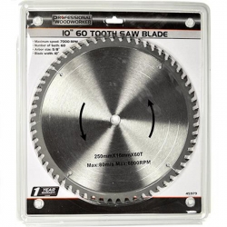 Clearance Professional 1560H 10-Inch, 60-Tooth Circular Saw Blade