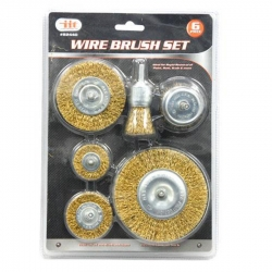 Illinois Industrial Tool (IIT) 82440 6-Piece Wire Wheel Set