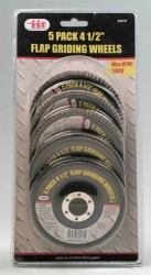 IIT Illinois Industrial Tool 80070 5-Piece Flap Wheel Set
