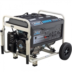 Pulsar PG6000 6,000 Watt Peak, 5,000 Watt Running Wheeled Generator (Call for Shipping Quote)