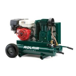 Rol-Air 7722HK28 9-Horsepower Honda Motor Twin Tank Compressor (Call for Shipping Quote)
