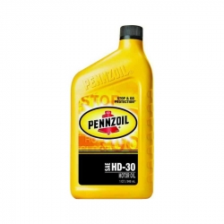 Pennzoil 3539 30 Weight Motor Oil - Quart Size