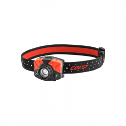 Coast 20618 FL75R Red Rechargeable LED Headlamp