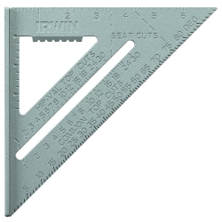 Irwin 1794464 7-Inch Aluminum Speed Square