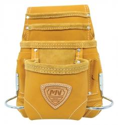 Custom Leathercraft I923x 10 Pocket Nail Amp Tool Bag Only