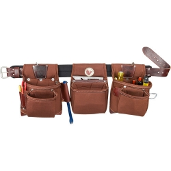 Occidental Leather 8385LG Black Belt Rough Framer Tool Pouch System - Large