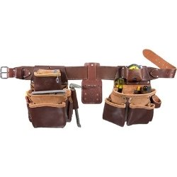 Occidental Leather 5080DB-M Medium Leather Belt Package - No tools included