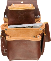 Occidental Leather 5060 3-Pocket Pro Fastener Tool Bag / Pouch